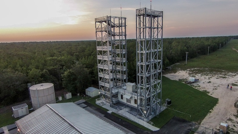 Variable Height Tower at Eglin AFB, Florida