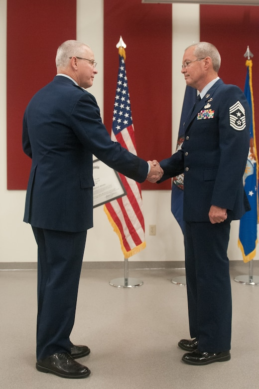 14th Virginia State Command Chief retirement ceremony