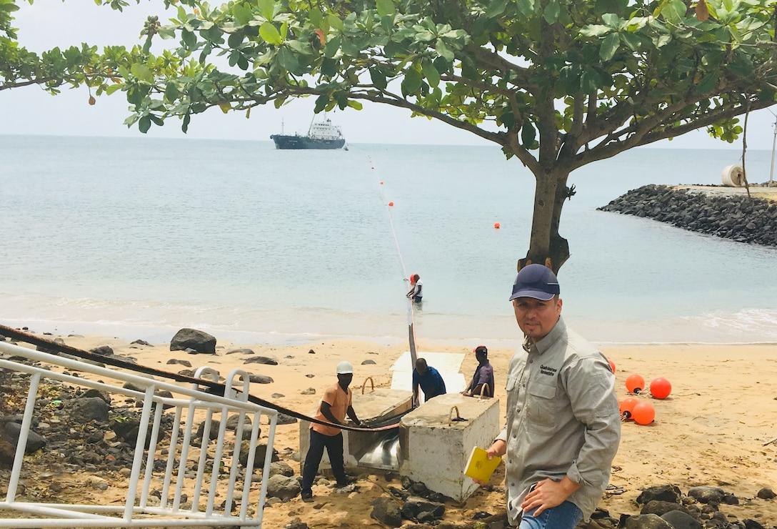 Sao Tome Site Visit