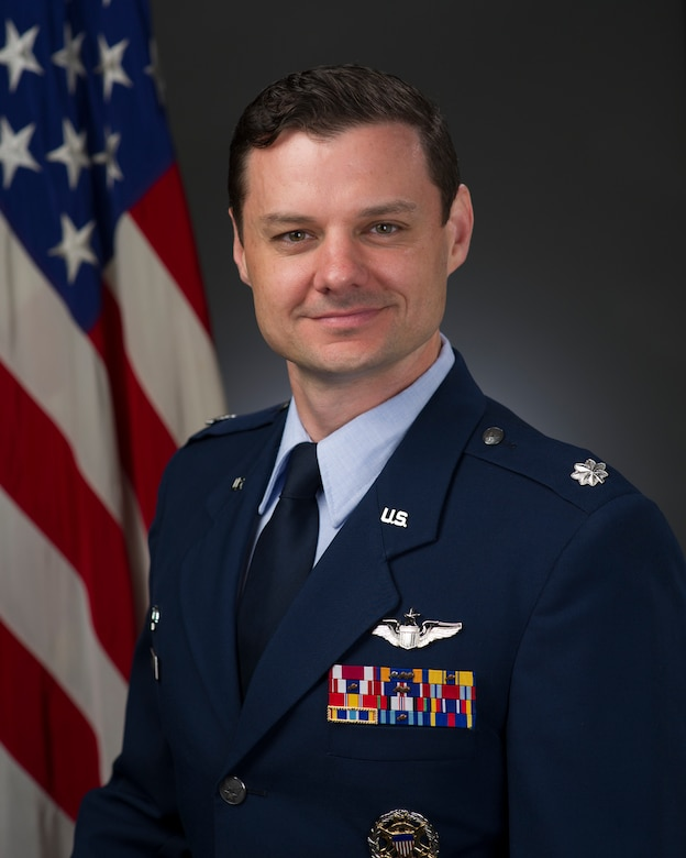 Lt. Col. Aaron Webb official photo