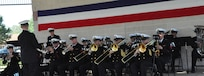 IMAGE: DAHLGREN, Va. (Oct. 19, 2018) – The Navy Band plays at the grand finale celebration of the Naval Surface Warfare Center Dahlgren Division (NSWCDD) centennial. The ceremony concluded a year of centennial activities – from a concert and picnics to podcasts and a rocket contest – government civilians, defense contractors, and military personnel working at Naval Surface Warfare Center Dahlgren Division (NSWCDD) travelled down memory lane leading up to the 100-year mark this month.