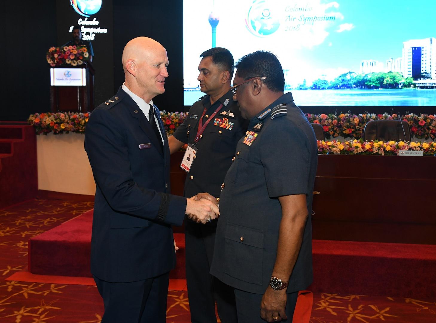 PACAF Showcases Partnership, Interoperability at Colombo Air Symposium