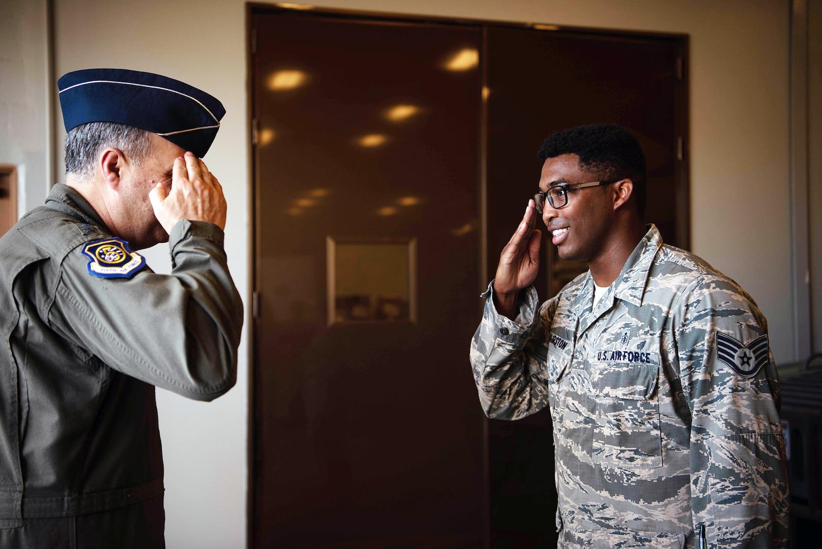 USFJ, 5th AF CC visits Kadena Air Base