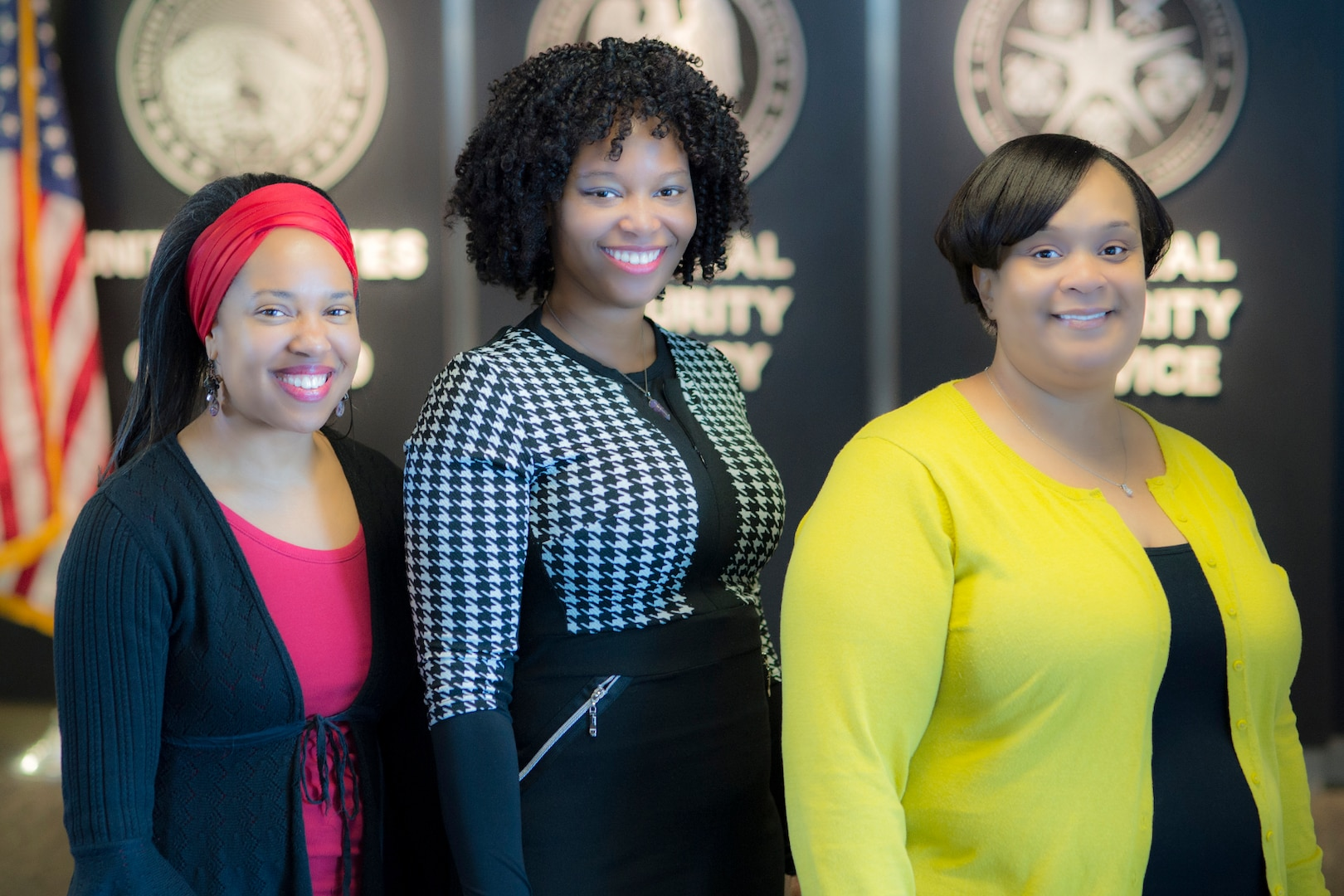 (L to R) Dr. Valerie Nelson, Dr. Aziza Jefferson, and Dr. Philicity Williams