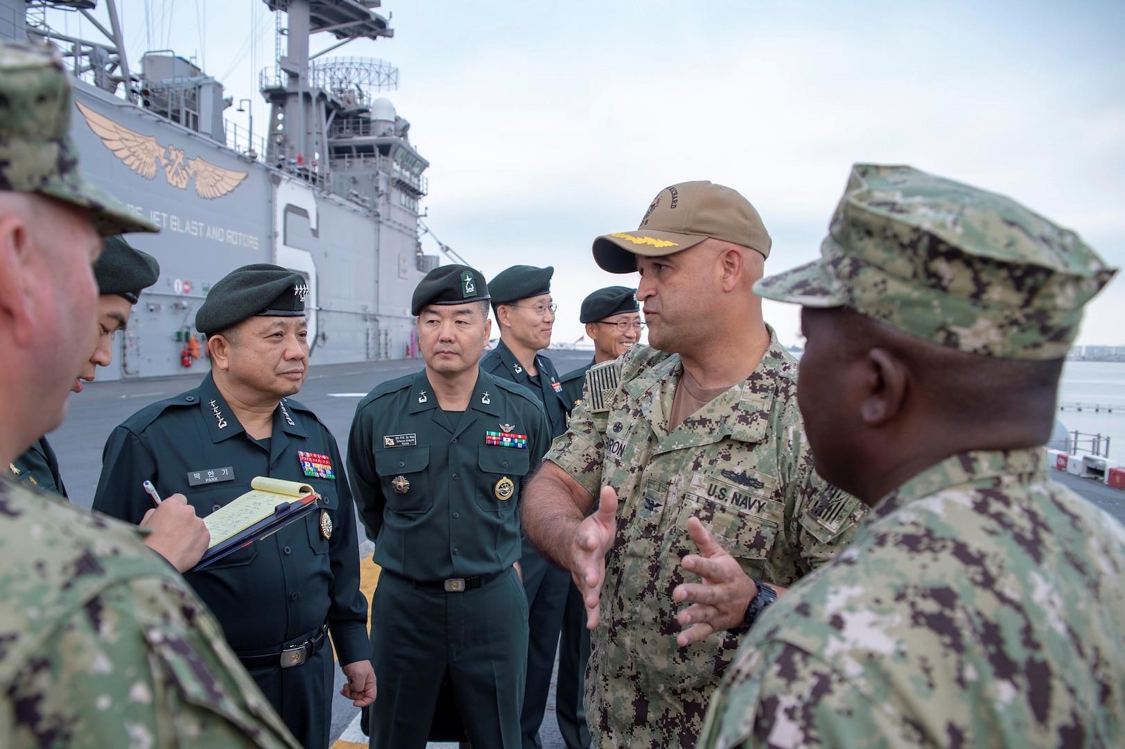 3rd Fleet hosts ROK Joint Chiefs chairman, strengthens partnership
