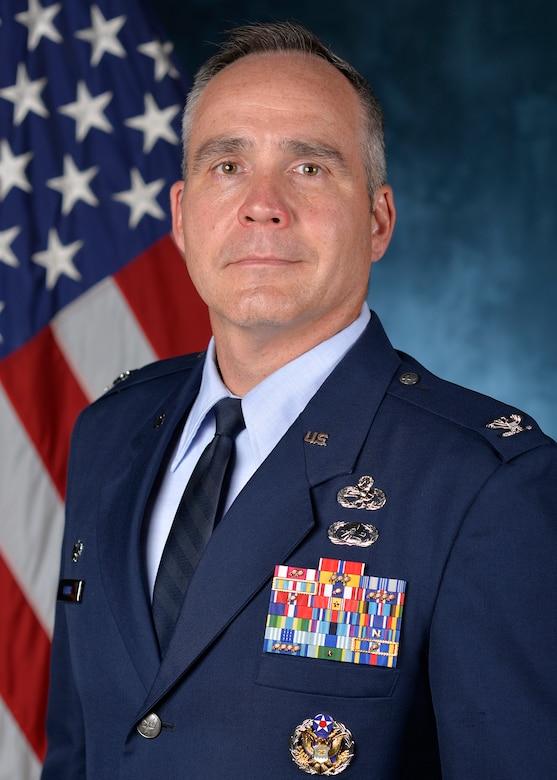 Col. Mark Harris 437th Maintenance Group commander