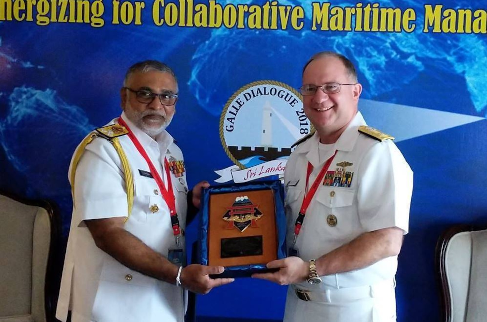 Submarine Group 7 commander attends Sri Lanka Navy's Galle Dialogue