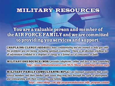 Military resources graphic