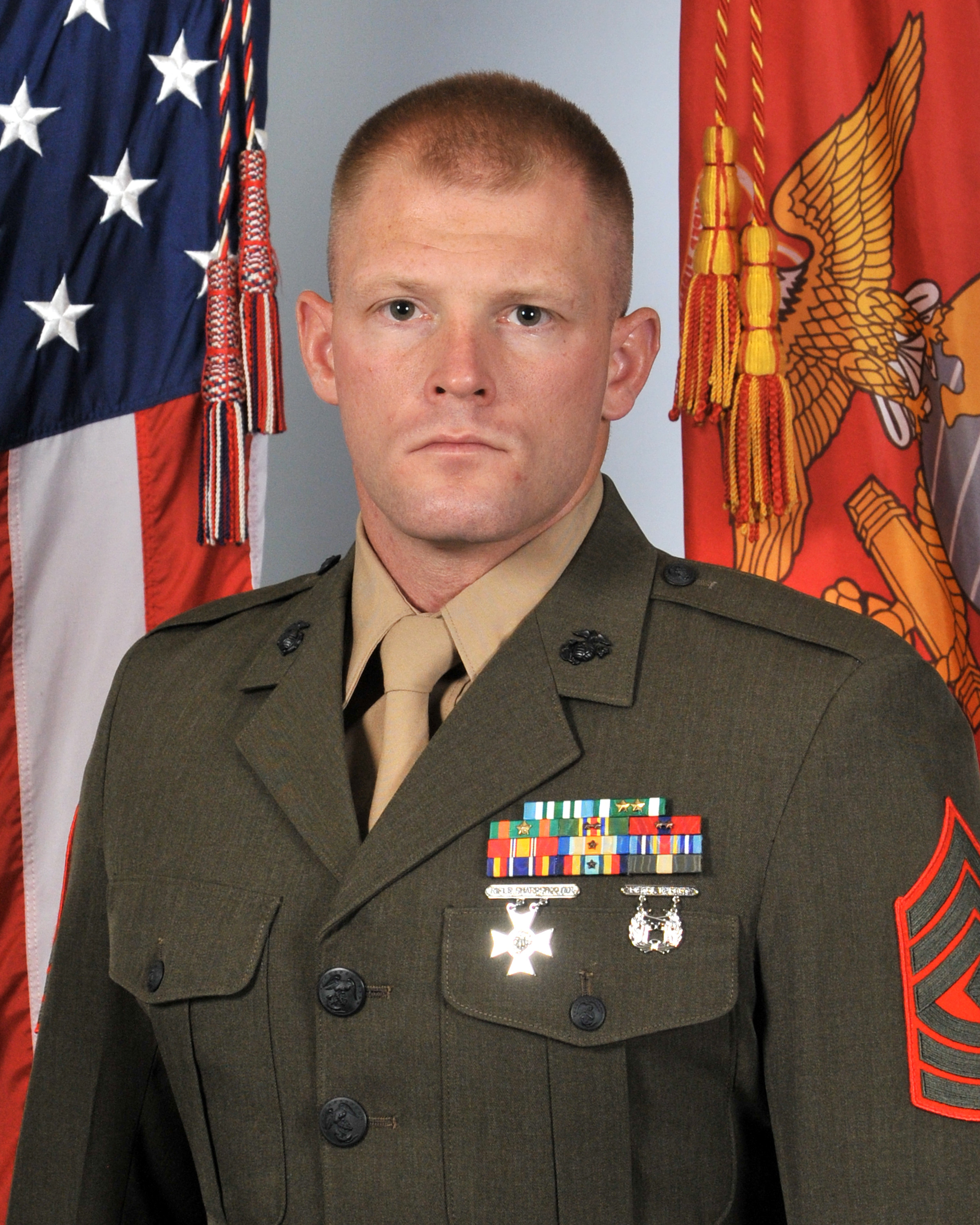 22cbf74e5 First Sergeant Croft enlisted in the Marine Corps in March of 2007 and  began Recruit Training at Parris Island