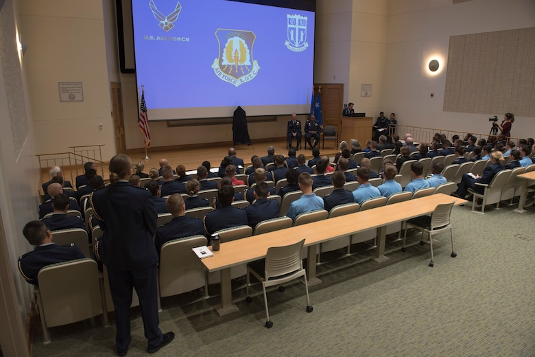 Retired general recognized in alumni induction ceremony