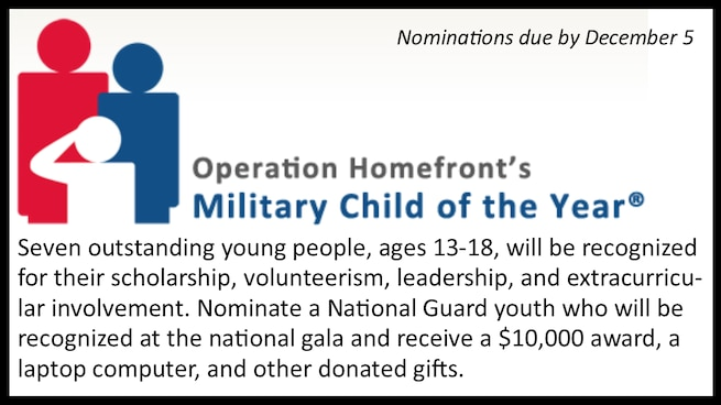Military Child of the Year - 2018