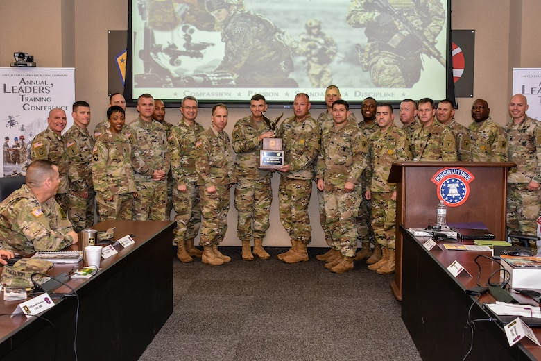 Top Recruiting Brigade of Excellence for Fiscal Year 2018 - US Army 2nd Recruiting Brigade