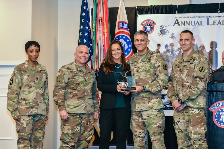USAREC Department of the Army Civilian Employees of the Year: