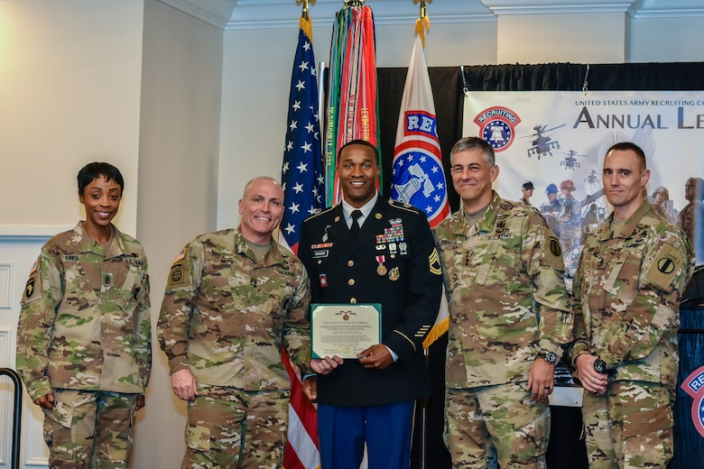 USAREC Noncommissioned Officers of the Year: