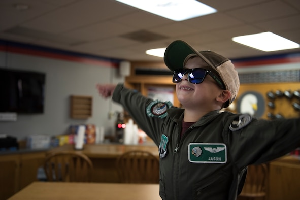 335th hosts pilot for warm-hearted experience