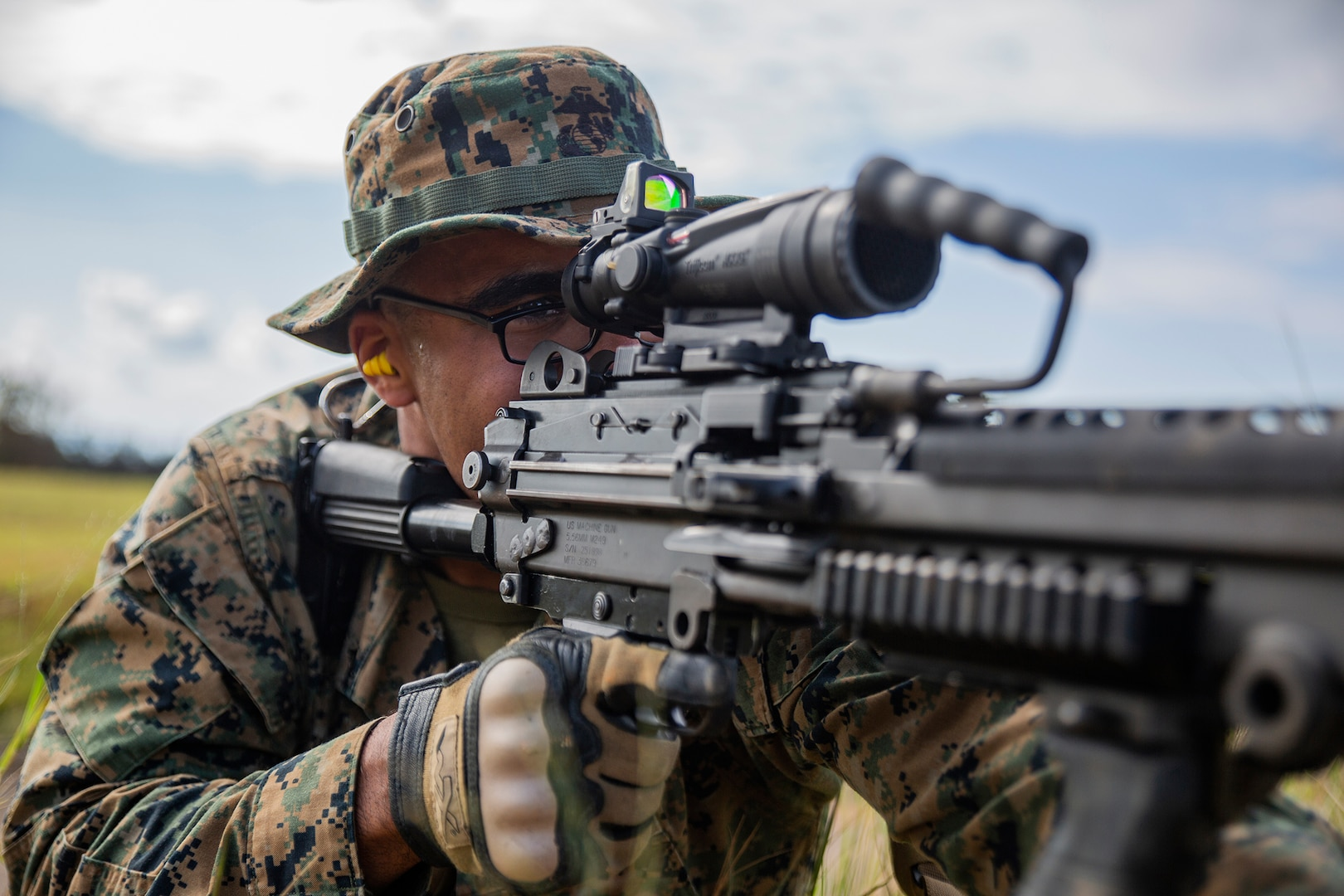 Rush the enemy | Marines with 3rd MLG execute fire and movement range