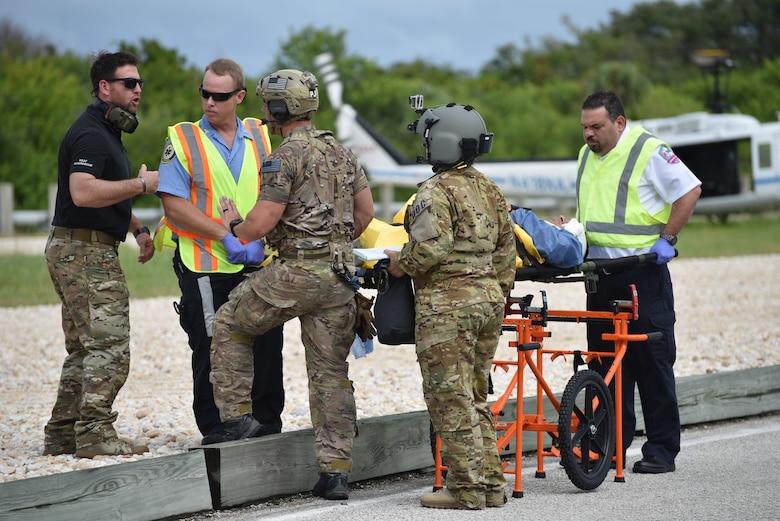 Medical evacuation exercise