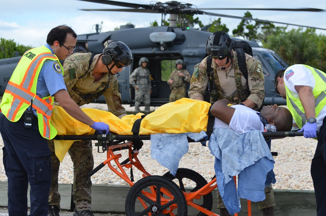Medical evacuation exercise