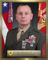 Sergeant Major Spencer E. Scott