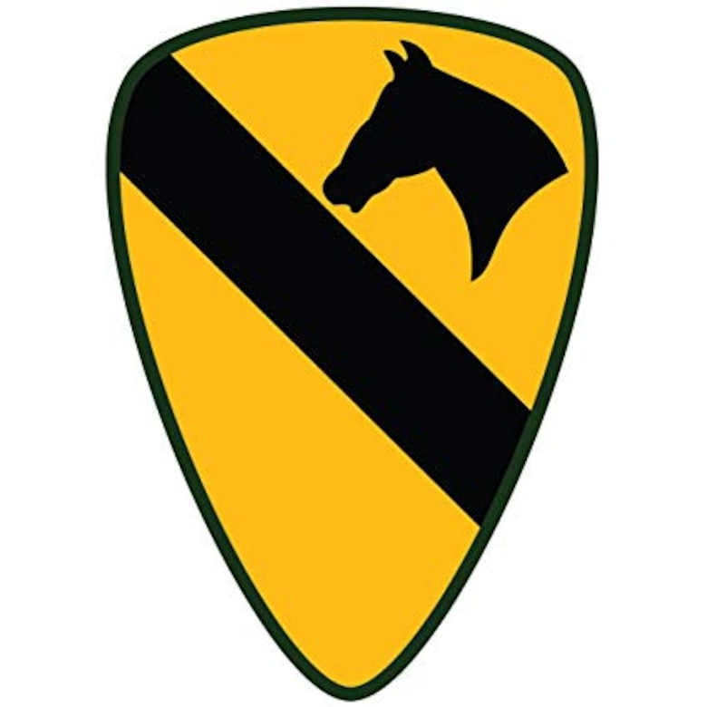 1st Armored Cavalry Division Crest