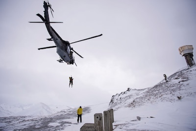 Alaska Air Guard members rescue downed pilot