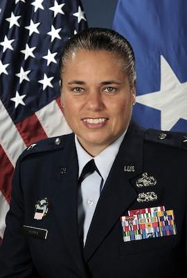 Air Force Brig. Gen Linda Hurry, Commander, DLA Aviation
