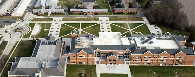 Aerial photo of MCU.