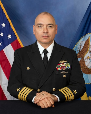 CAPT Jon H. Moretty, a native of Portland, OR, enlisted in the Navy in 1989. He was selected for the Nuclear Enlisted Commissioning Program, graduating with honors from Oregon State University in 1994 with a Bachelor of Science in Electrical Engineering and was commissioned via Officer Candidate School. He holds a Master of Business Administration from San Diego State University and Master of Arts in Strategic Studies and National Security from Naval War College where he was selected as Mahan Scholar and performed Chief of Naval Operations directed research on China's nuclear program.