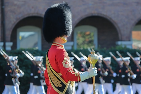 SgtMaj Canley Medal of Honor Flag Presentation
