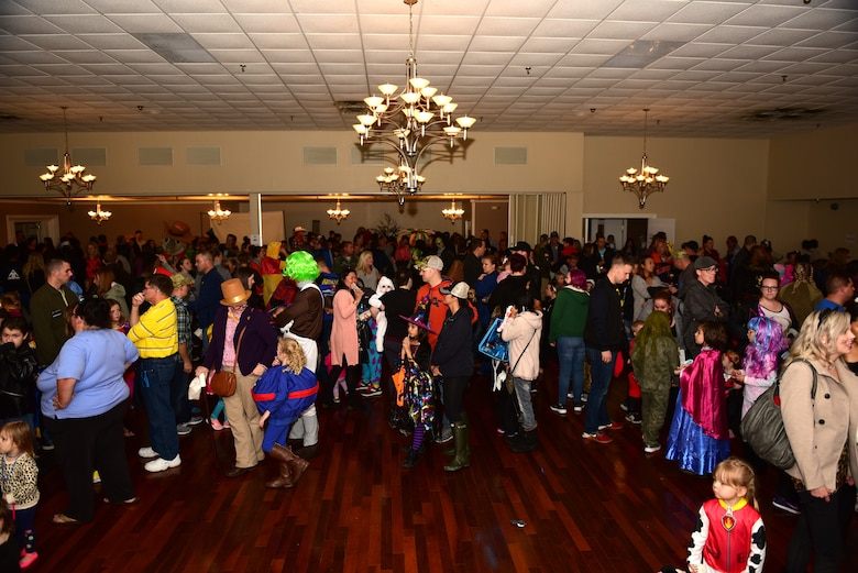 4th FSS hosts Halloween block party