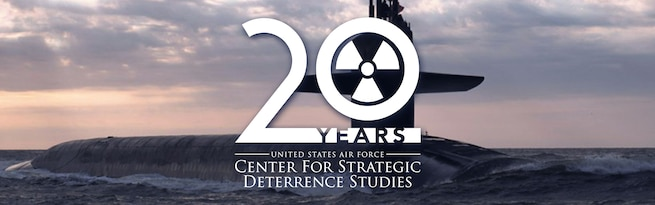 Center for Strategic Deterrence Studies 20 years anniversary banner