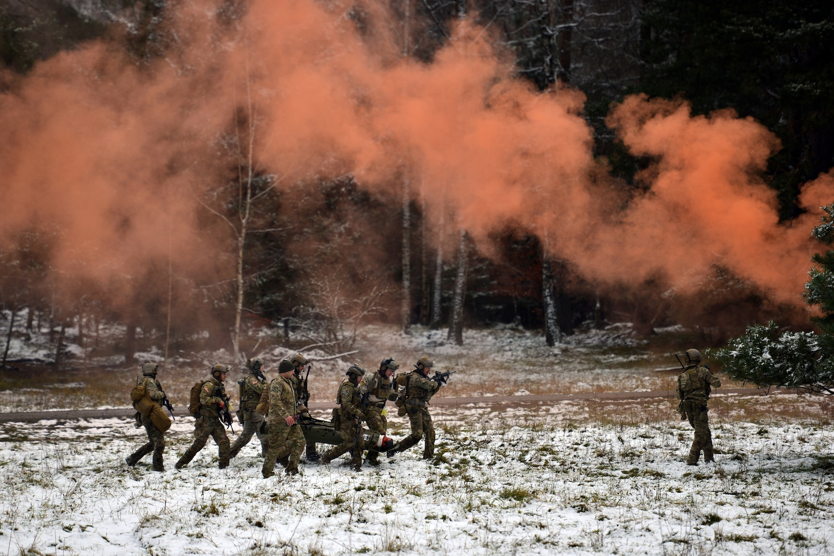Soldiers assigned to 10th Special Forces Group (Airborne) conduct urban operations training near Stuttgart, Germany (U.S. Army/Jason Johnston)