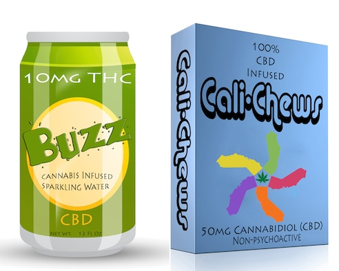 "Cannabidiol (CBD) products are increasingly sold as dietary supplements, marketed as a ""vape oil,"" and are being added to various commercially available food and drink items, including beer and candy. Under federal law, any product that contains CBD oil remains a controlled substance, and potentially has detectable ammounts of tetrahydrocannabinol (THC) that will show up during a drug screening. the United States military still maintains a zero tolerance policy for marijuana use, regardless of form. (U.S. Air Force illustration by Mauricio Campino and Airman 1st Class Dedan Dials)"
