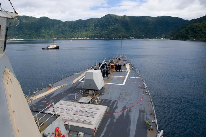 USS Shoup Arrives in American Samoa as Part of OMSI Deployment