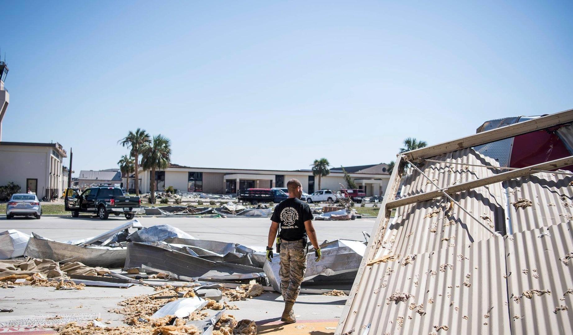 Tyndall AFB Hurricane Michael impacts