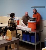 Level III Mentoring Program associates volunteer