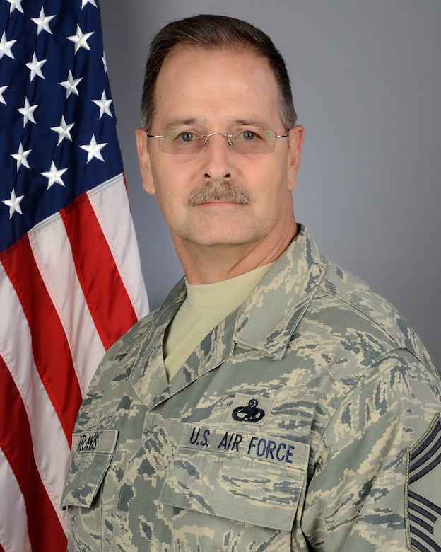U.S. Air Force Chief Master Sgt. Kevin Travis