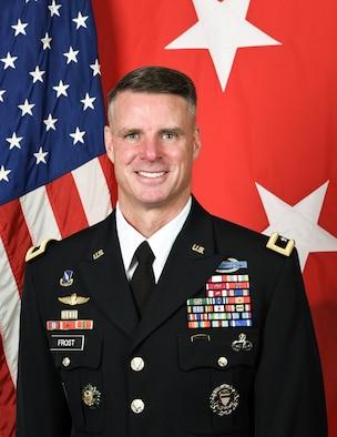 Maj. Gen.l Malcolm B. Frost official photo