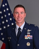 165th Airlift Wing, Vice Wing Commander Col. Pete Boone official photo