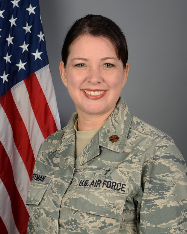 Maj. Christina Pittman portrait