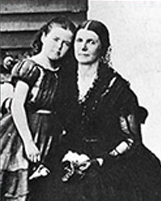 Portrait of Rose Greenhow