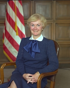 Portrait of Barbara McNamara