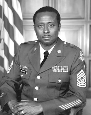 Portrait of Command Sergeant Major Odell Williams, USA
