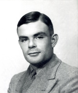 Portrait of Alan Turing