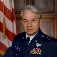 Portrait of Maj Gen Doyle E. Larson, USAF