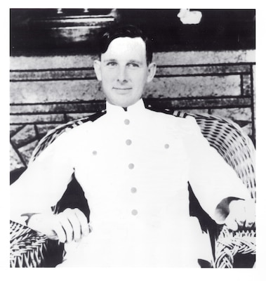 Portrait of CAPT Joseph J. Rochefort, USN