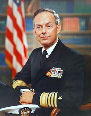 Portrait of ADM Bobby R. Inman, USN