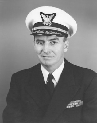 Portrait of Captain Leonard T. Jones, USCG