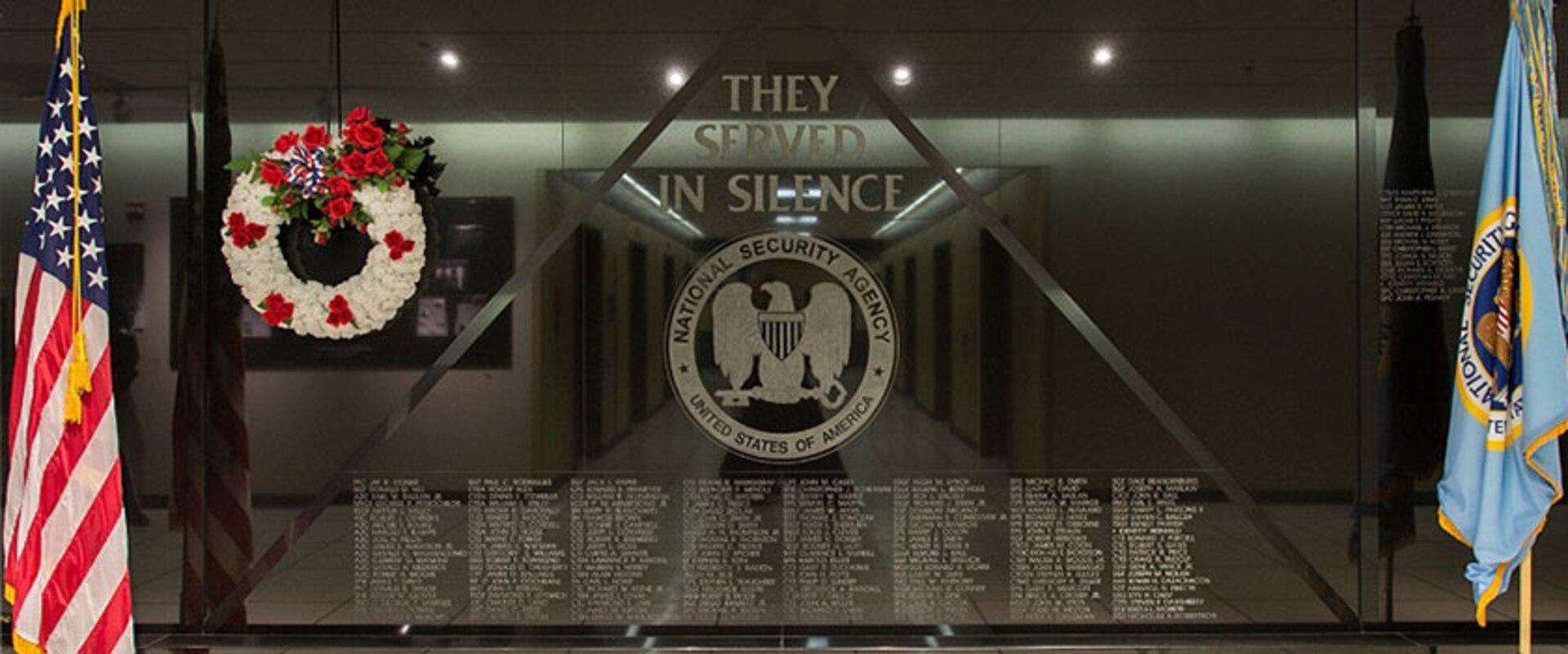 NSA Memorial Wall