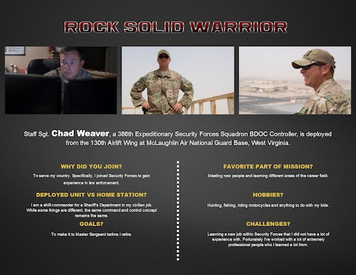 Rock Solid Warrior - Staff Sgt. Chad Weaver